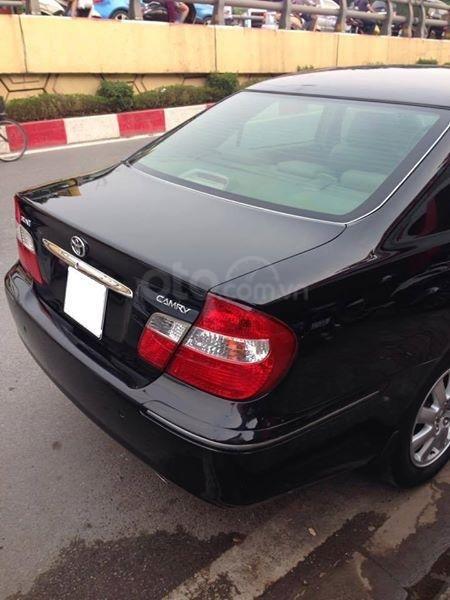 Gia đình cần bán Camry V6 2002, số tự động, màu đen gia đình sử dụng rất kĩ (9)