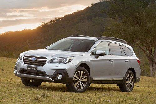 Top 10 mẫu xe SUV và crossover hút khách nhất tại thị trường ô tô Mỹ: Subaru Outback.