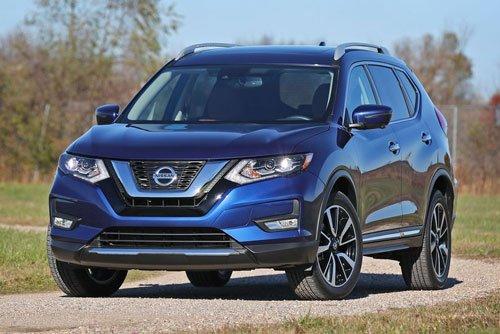 Top 10 mẫu xe SUV và crossover hút khách nhất tại thị trường ô tô Mỹ:Nissan Rogue/X Trail.
