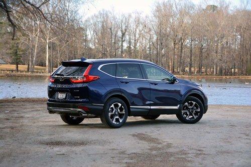 Top 10 mẫu xe SUV và crossover hút khách nhất tại thị trường ô tô Mỹ:Honda CR-V.