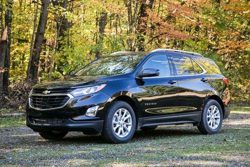Top 10 mẫu xe SUV và crossover hút khách nhất tại thị trường ô tô Mỹ: Chevrolet Equinox.