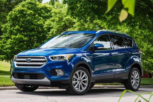 Top 10 mẫu xe SUV và crossover hút khách nhất tại thị trường ô tô Mỹ: Ford Escape.