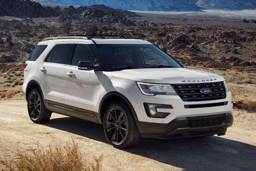 Top 10 mẫu xe SUV và crossover hút khách nhất tại thị trường ô tô Mỹ: Ford Explorer.