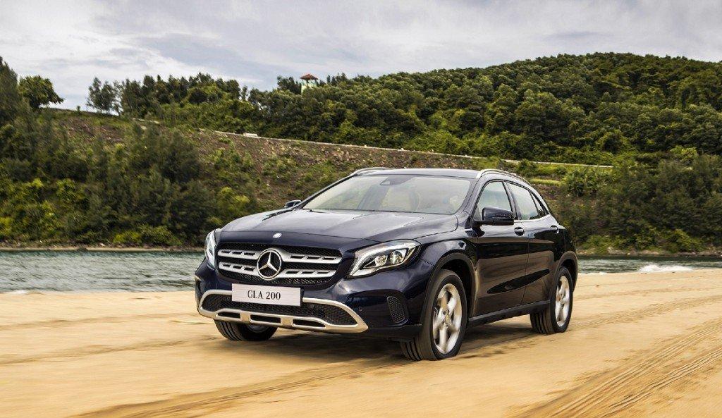 Đây là 10 mẫu xe Mercedes-Benz phiên bản 2019 đáng sở hữu nhất- Mercedes-Benz GLA 200 d 4MATIC 2019.