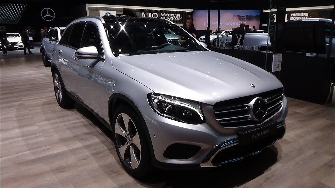 Đây là 10 mẫu xe Mercedes-Benz phiên bản 2019 đáng sở hữu nhất- Mercedes-Benz GLC 250 d 4MATIC 2019.
