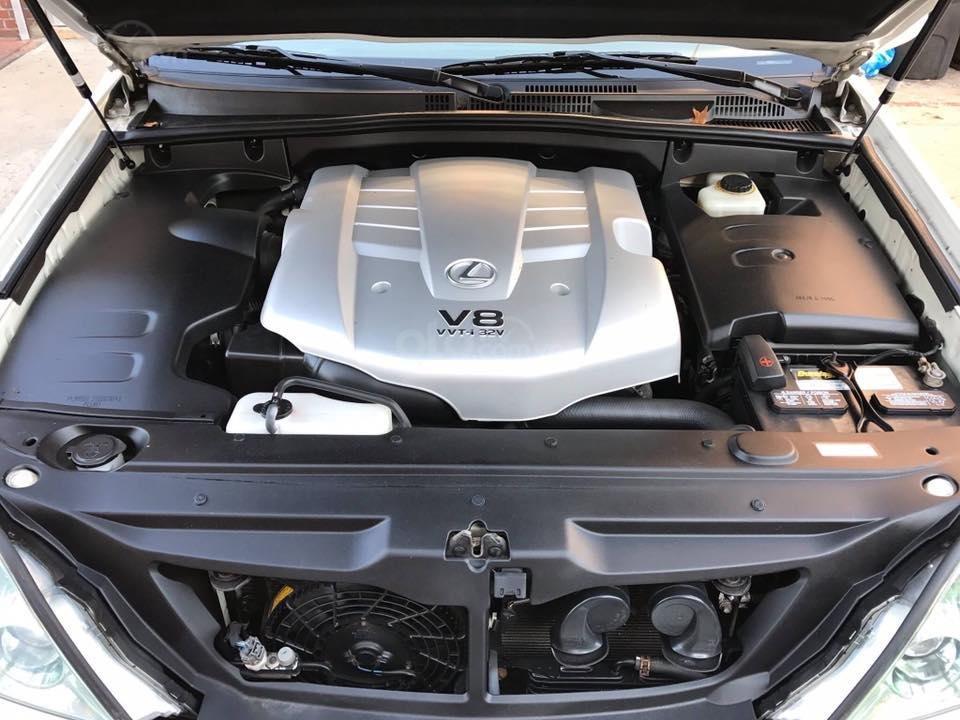 Cần bán xe Lexus GX470 2009 màu trắng,  nhập khẩu Nhật Bản (3)