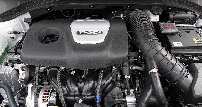 """""""Trái tim"""" của Hyundai Elantra Sport 2018 là động cơ xăng Gamma II 1.6L a1"""