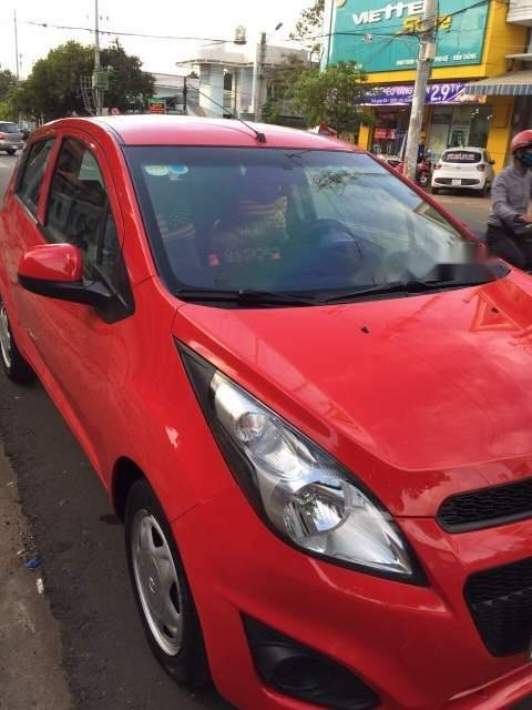 Cần bán lại xe Chevrolet Spark sản xuất 2016, màu đỏ còn mới (4)