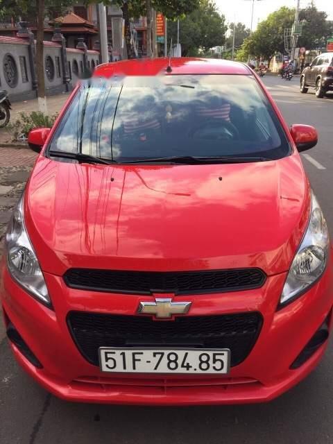 Cần bán lại xe Chevrolet Spark sản xuất 2016, màu đỏ còn mới (1)