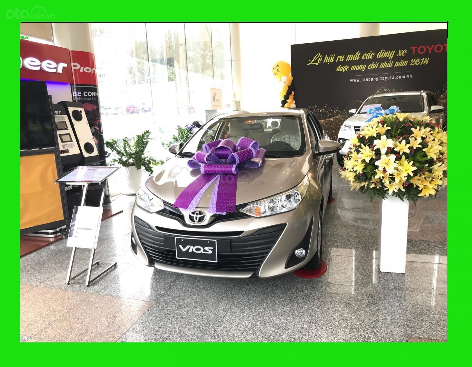 Toyota Tân Cảng Vios 1.5 tự động - Trả trước 150tr nhận xe - Xe giao ngay đủ màu - 0933000600 (1)