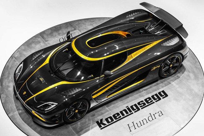 Chiêm ngưỡng 8 mẫu xe dát vàng sang chảnh nhất toàn cầu: Koenigsegg Agera S Hundra.