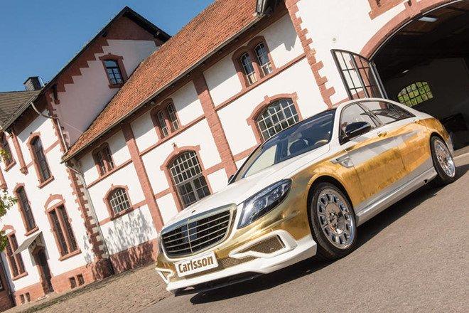 Chiêm ngưỡng 8 mẫu xe dát vàng sang chảnh nhất toàn cầu: Carlsson CS50 Versailles.