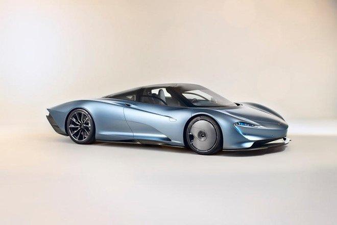 Chiêm ngưỡng 8 mẫu xe dát vàng sang chảnh nhất toàn cầu: McLaren Speedtail.