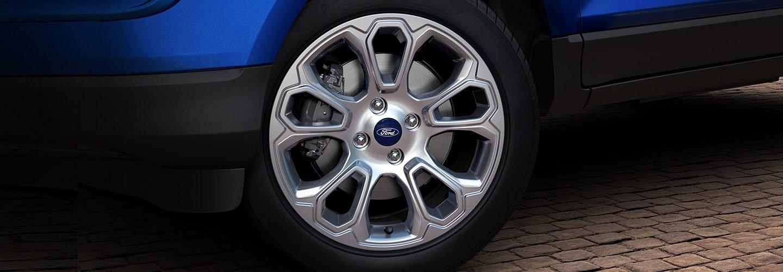 Đánh giá xe Ford Ecosport 2018: Mâm hợp kim.