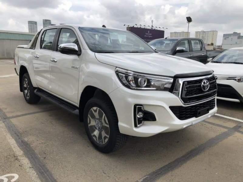Bán xe Toyota Hilux 2.8L 2019, màu trắng, nhập khẩu nguyên chiếc-5