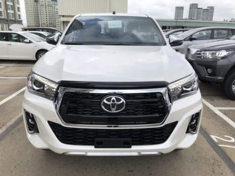 Bán xe Toyota Hilux 2.8L 2019, màu trắng, nhập khẩu nguyên chiếc-0