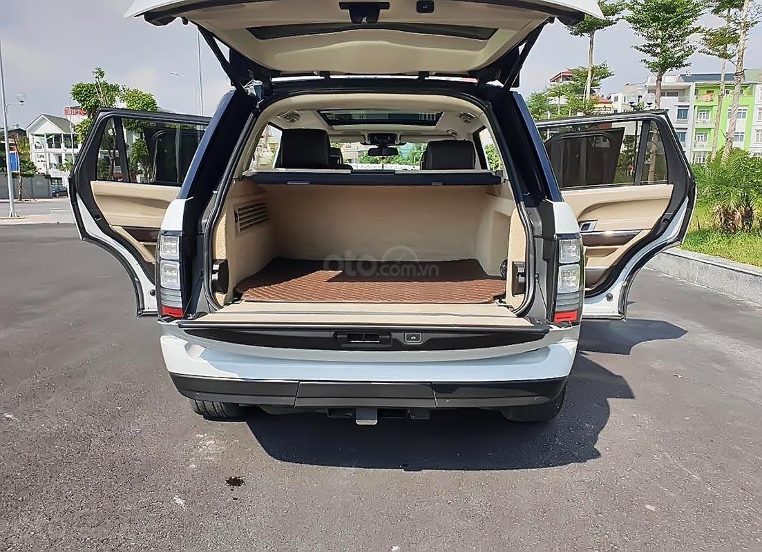 Bán lại xe LandRover Range Rover Autobiography LWB Black Edition sản xuất 2015, màu trắng, nhập khẩu chính chủ-1