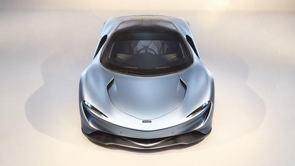 Gọi tên 10 siêu xe 'quái vật' ra mắt toàn cầu năm 2018:McLaren Speedtail.