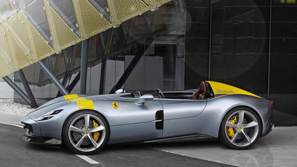 Gọi tên 10 siêu xe 'quái vật' ra mắt toàn cầu năm 2018:Ferrari Monza.