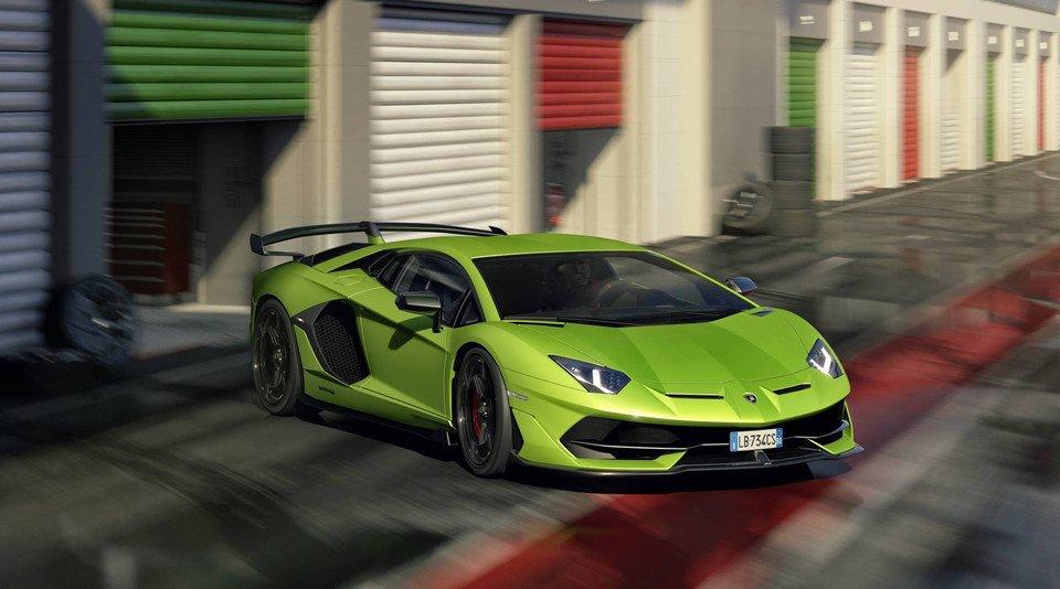 Gọi tên 10 siêu xe 'quái vật' ra mắt toàn cầu năm 2018:Lamborghini Aventador SVJ.