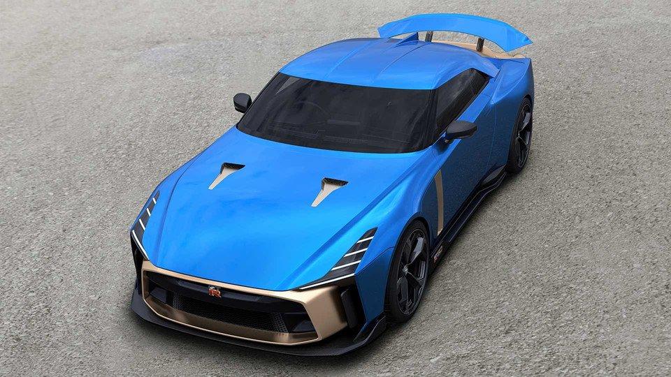 Gọi tên 10 siêu xe 'quái vật' ra mắt toàn cầu năm 2018:Nissan GT-R 50 Italdesign.
