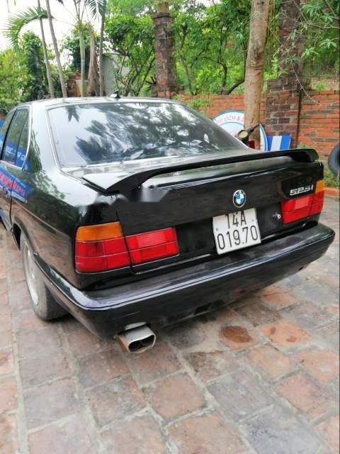 Bán BMW 5 Series 525i 1995, màu đen, xe nhập (6)