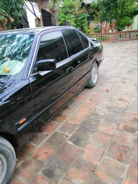 Bán BMW 5 Series 525i 1995, màu đen, xe nhập (3)