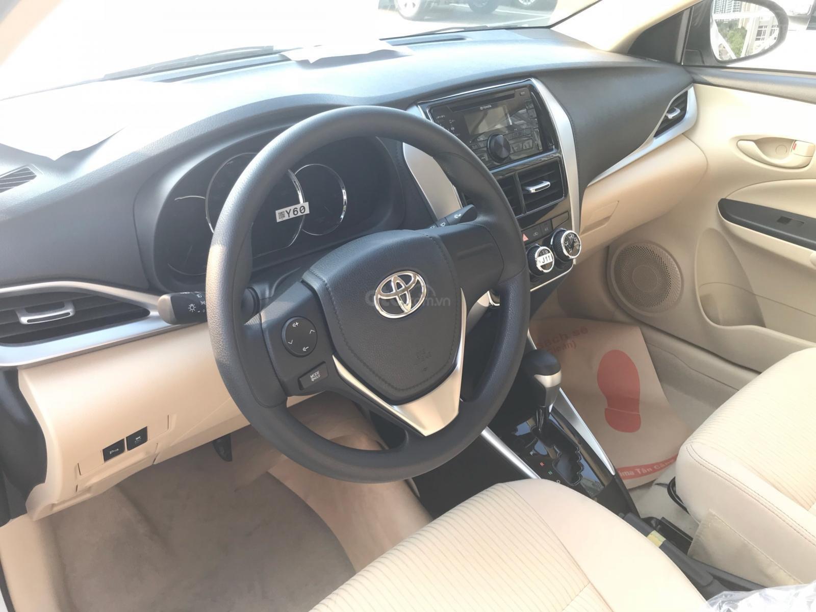 Toyota Tân Cảng Vios 1.5 tự động, trả trước 150tr nhận xe - Xe giao ngay đủ màu, LH 0933000600-1