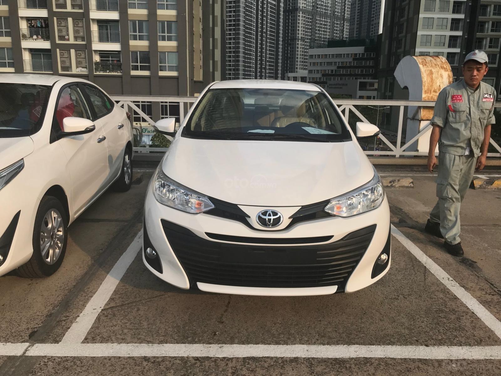 Toyota Tân Cảng Vios 1.5 tự động, trả trước 150tr nhận xe - giao ngay đủ màu, LH 0933000600 (5)