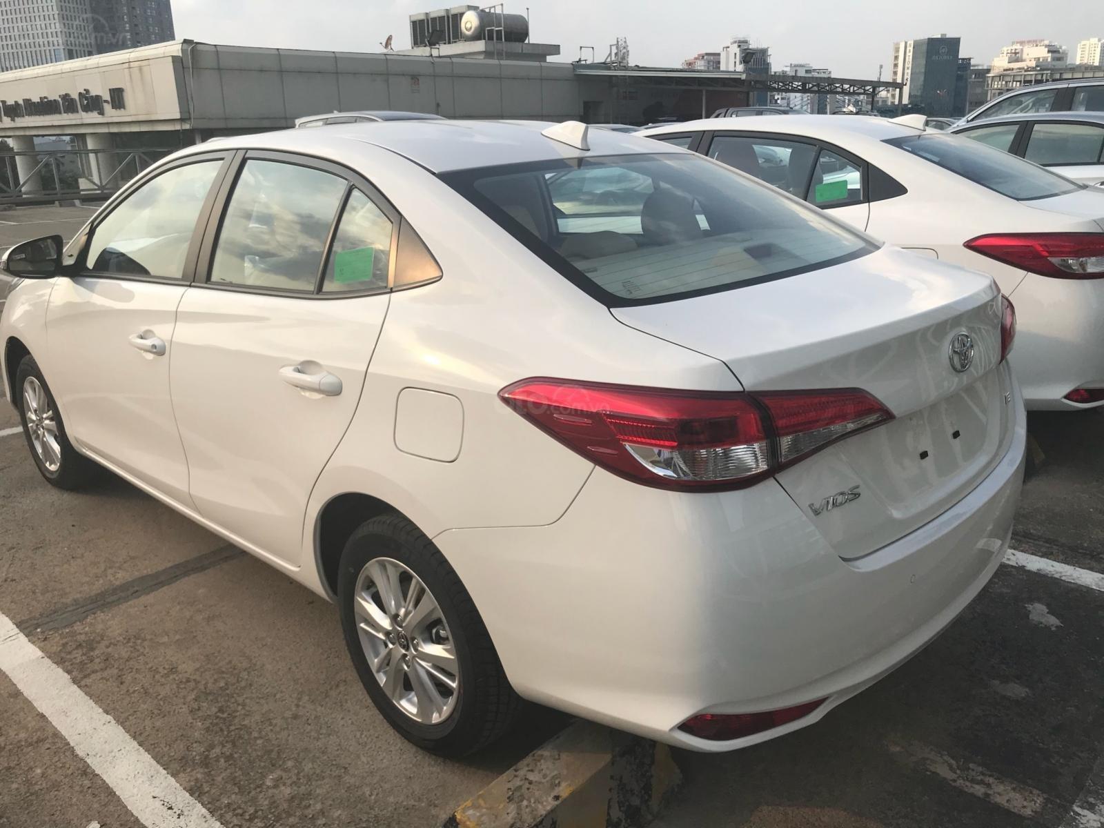 Toyota Tân Cảng Vios 1.5 tự động, trả trước 150tr nhận xe - Xe giao ngay đủ màu, LH 0933000600-5
