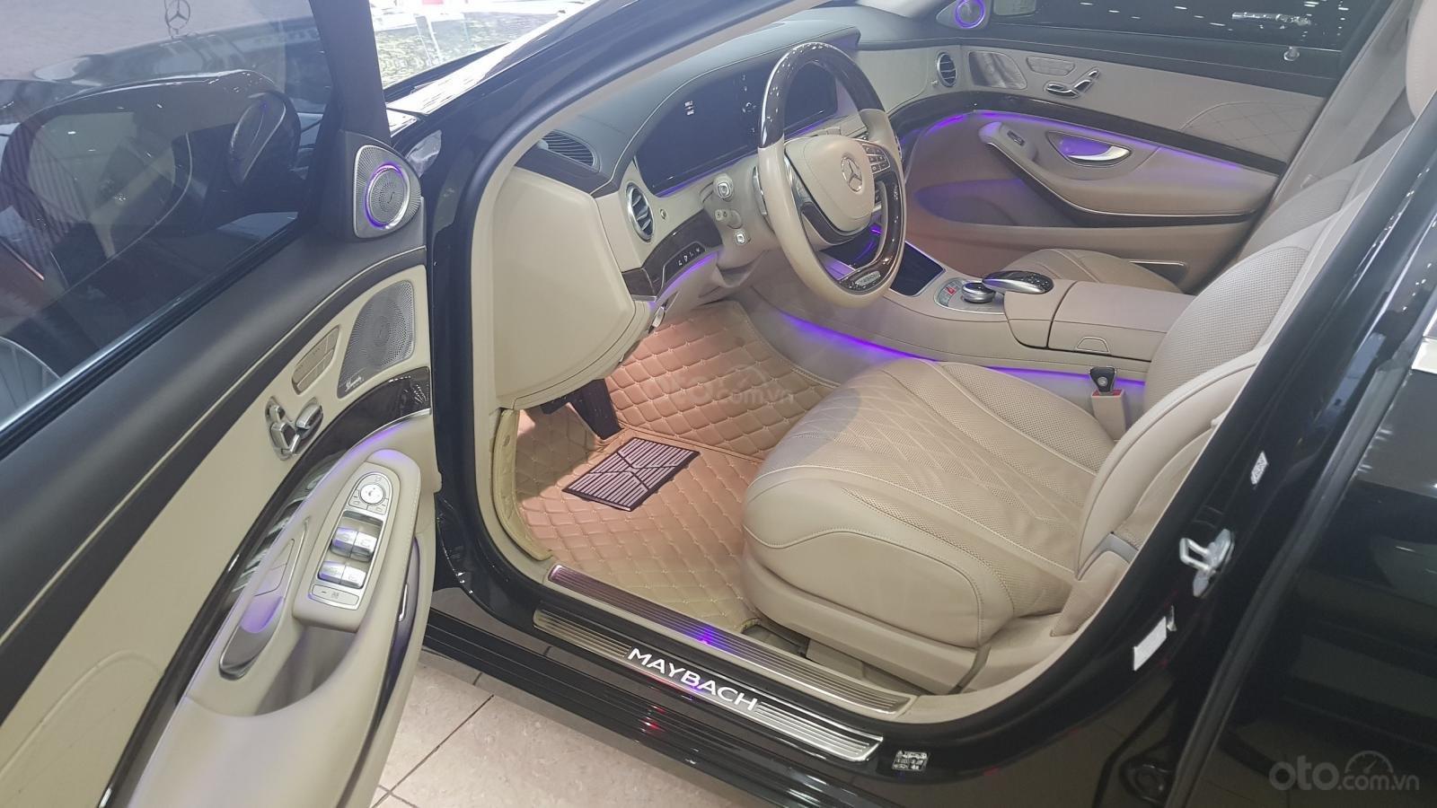 Bán Mercedes S400 Maybach sản xuất 2016, đăng ký lần đầu 2017-3