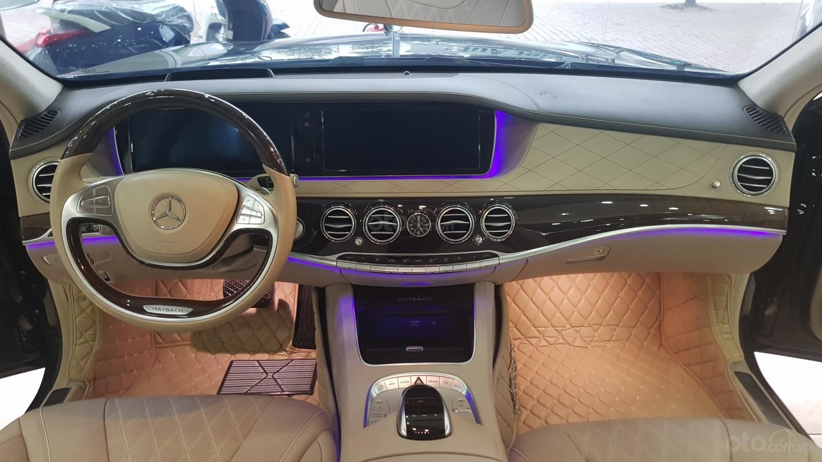 Bán Mercedes S400 Maybach sản xuất 2016, đăng ký lần đầu 2017-5
