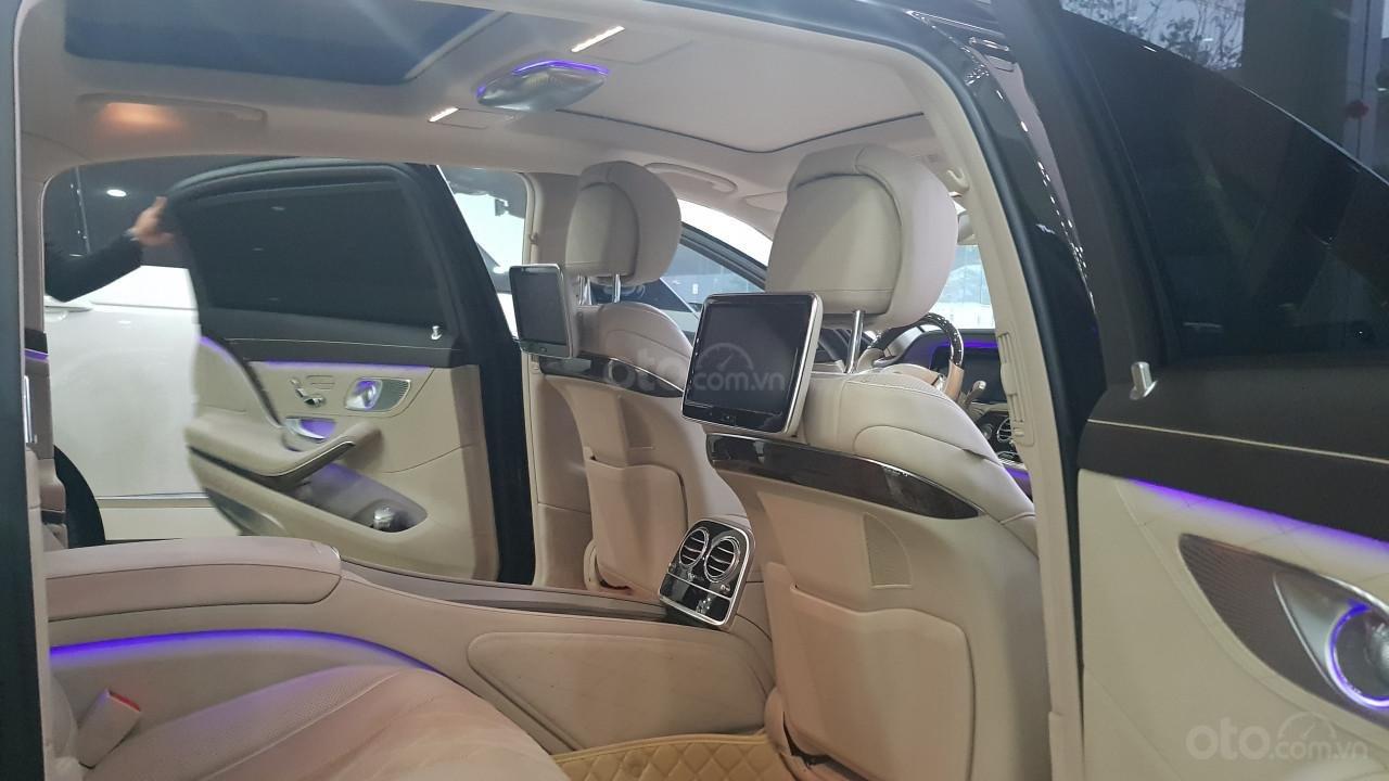 Bán Mercedes S400 Maybach sản xuất 2016, đăng ký lần đầu 2017-9