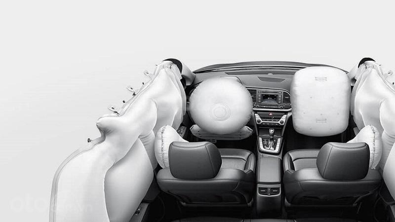Hệ thống túi khí trên Hyundai Elantra 2019...