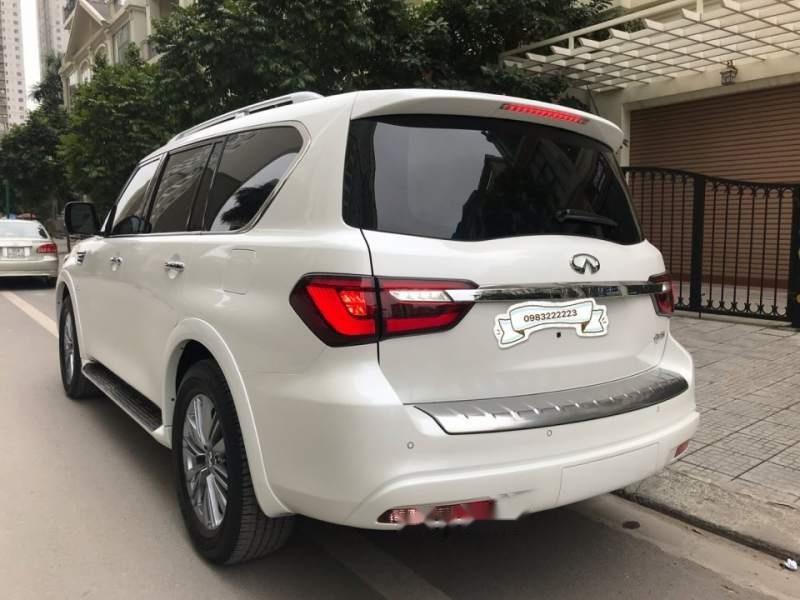 Bán ô tô Infiniti QX80 sản xuất 2018, màu trắng, nhập khẩu nguyên chiếc-2