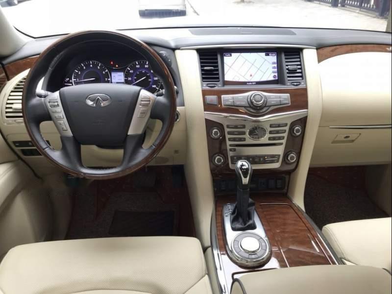 Bán ô tô Infiniti QX80 sản xuất 2018, màu trắng, nhập khẩu nguyên chiếc-4