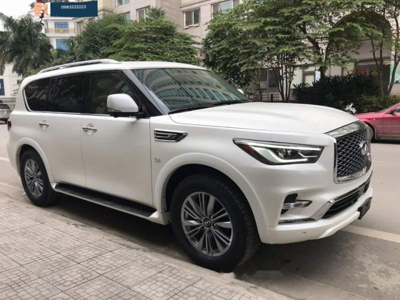 Bán ô tô Infiniti QX80 sản xuất 2018, màu trắng, nhập khẩu nguyên chiếc-0