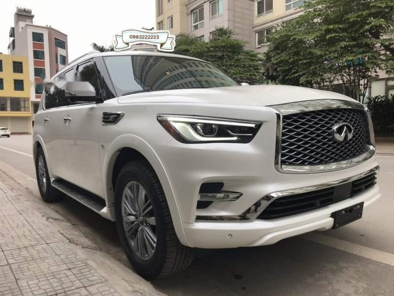 Bán ô tô Infiniti QX80 sản xuất 2018, màu trắng, nhập khẩu nguyên chiếc-1