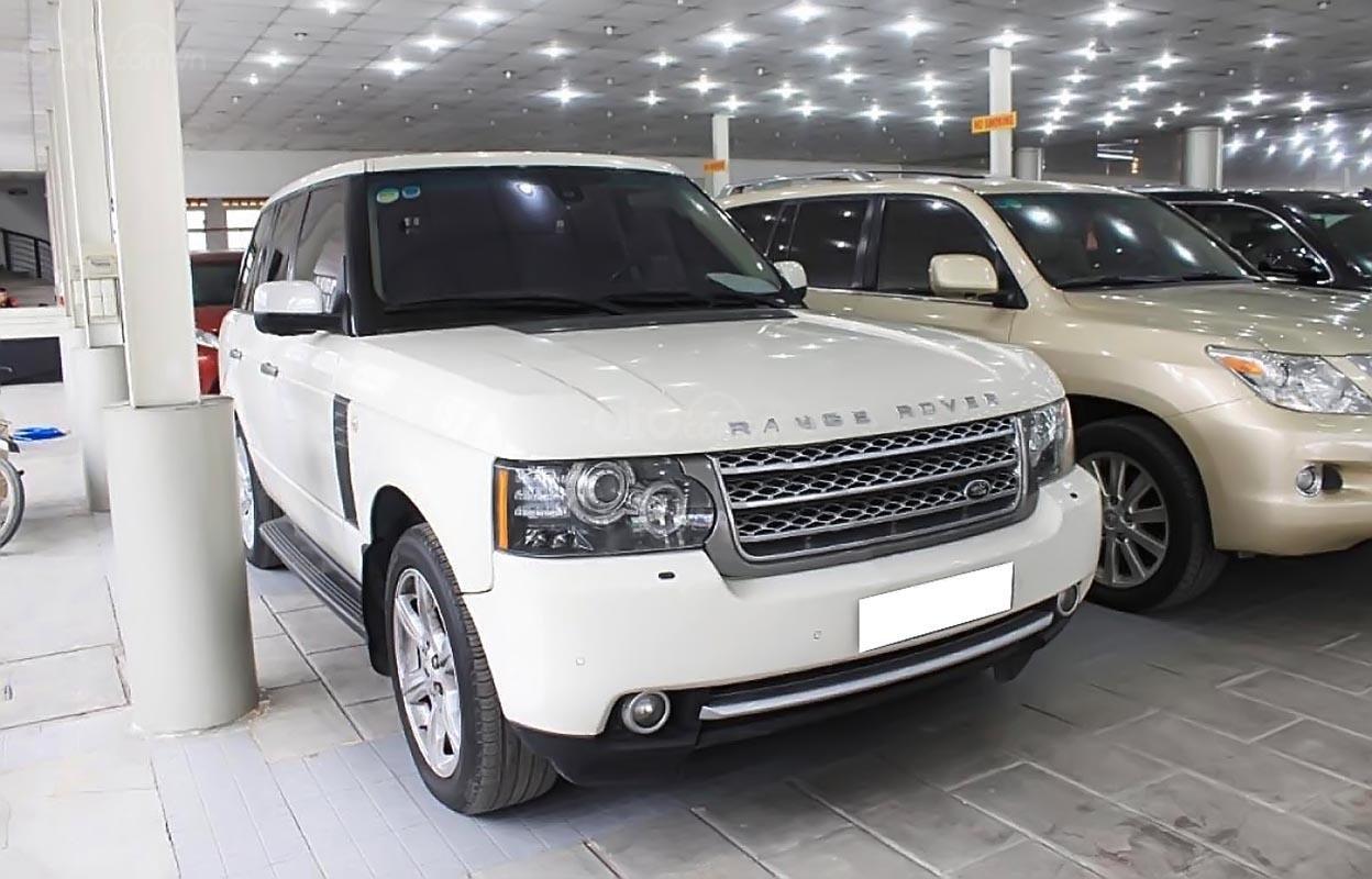 Bán LandRover Range Rover Autobiography 5.0 đời 2009, màu trắng, xe nhập  -0