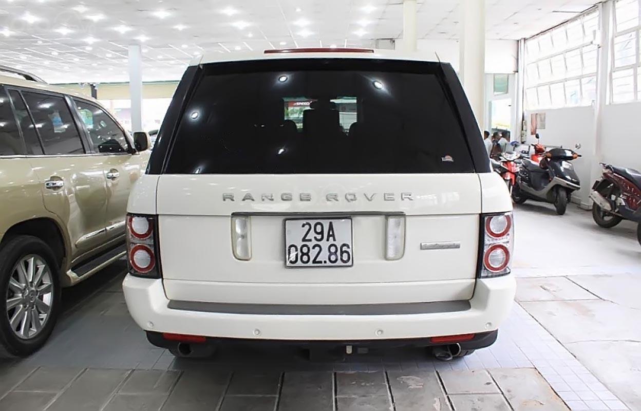 Bán LandRover Range Rover Autobiography 5.0 đời 2009, màu trắng, xe nhập  -1