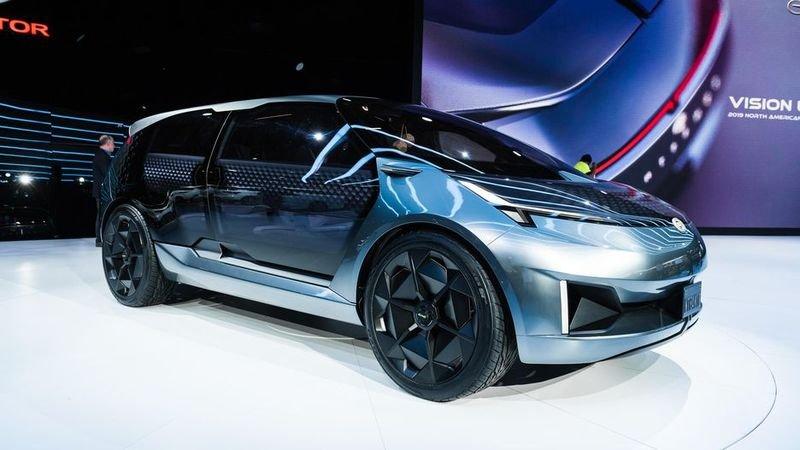 Entranze concept: Xe Trung Quốc lai phong cách xe Mỹ a1