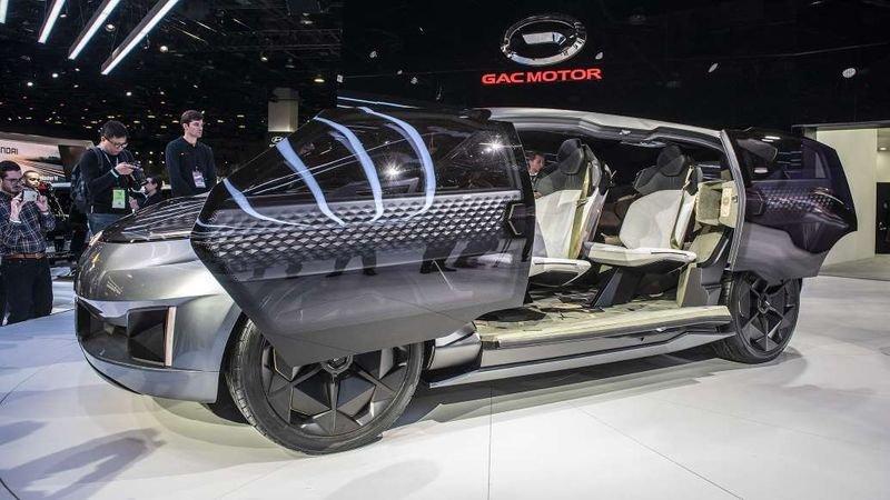 Entranze concept: Xe Trung Quốc lai phong cách xe Mỹ a10