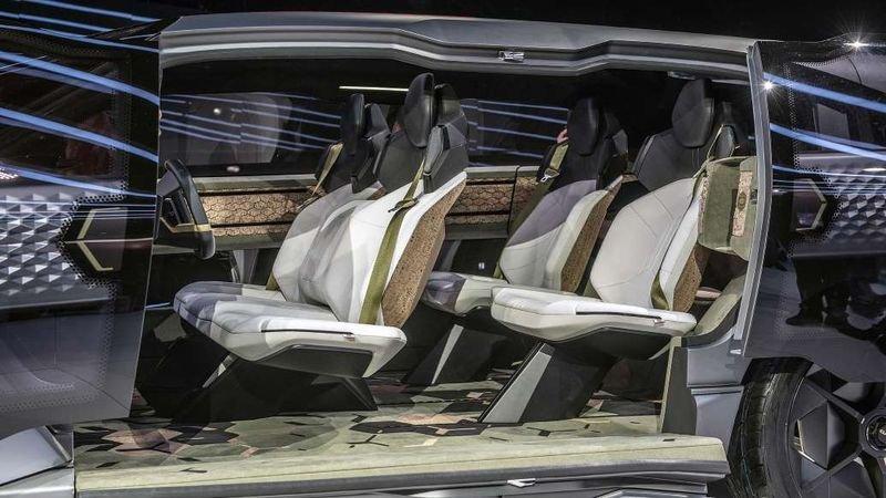 Entranze concept: Xe Trung Quốc lai phong cách xe Mỹ a8