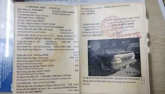 Cần bán xe Daewoo Racer đời 1990, nhập khẩu (2)