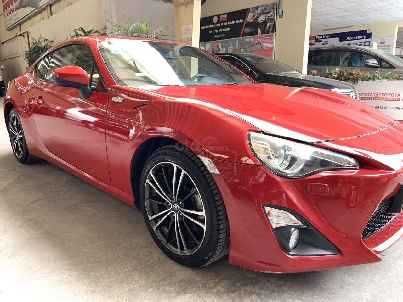 Bán Toyota FT86 Sport 2012 đăng ký 2015, xe nhập hãng Toyota, mẫu xe thể thao hiếm trên thị trường, bảo hành chính hãng (5)