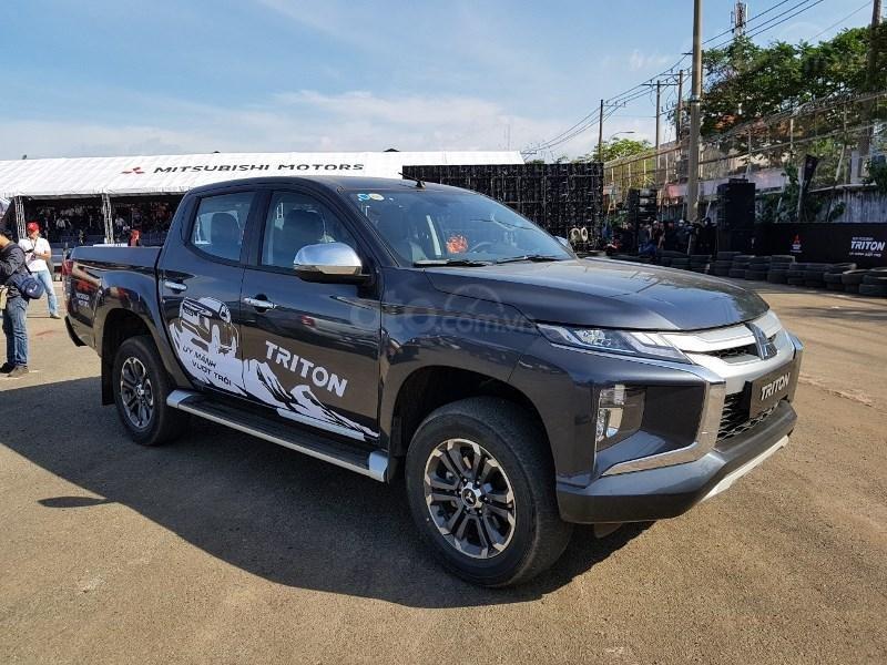 Mitsubishi Triton 2019 tại sự kiện ra mắt ở TPHCM 3