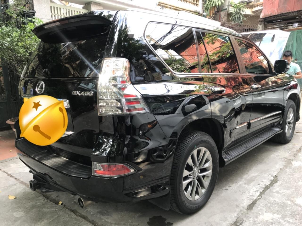 Bán Lexus GX 460 Luxury nhập Mỹ đời 2014, ĐK 2015 màu đen xe siêu chất-3