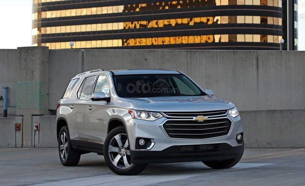Đánh giá xe Chevrolet Traverse 2019