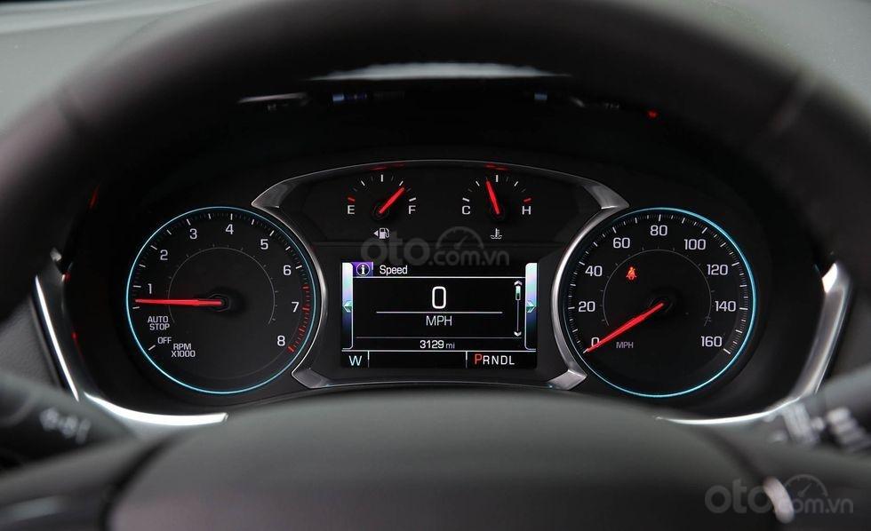 Đánh giá xe Chevrolet Traverse 2019 đồng hồ lái
