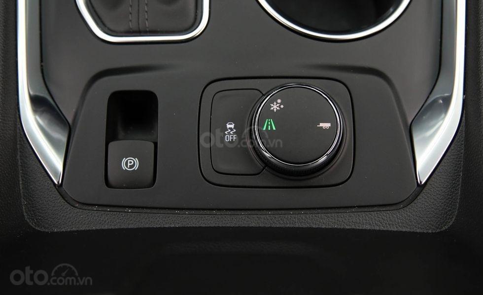 Đánh giá xe Chevrolet Traverse 2019 núm điều khiển